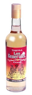Los Generales Tequila Gold 750ml